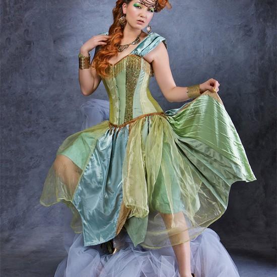 Absinthe costume dress design