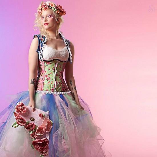 Candyfloss corset