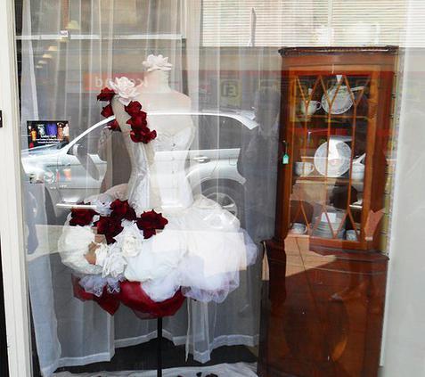 Wedding dress for Oxfam